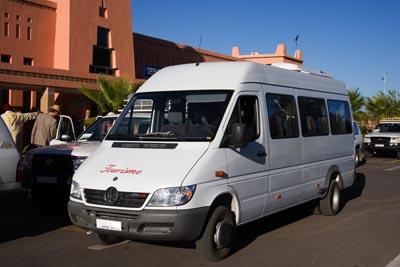 Location minibus avec chauffeur tarif